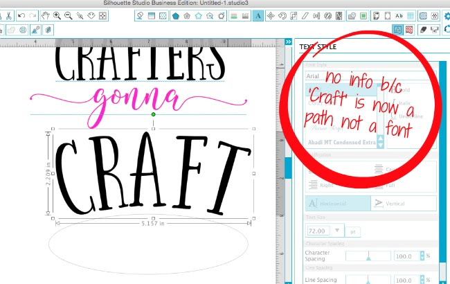 Font names not showing up in Silhouette Studio, silhouette studio text name missing