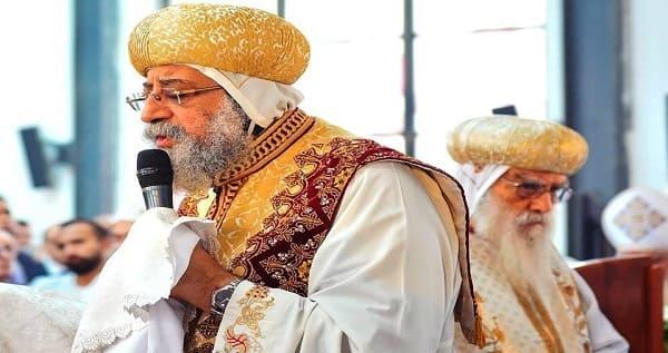 فشل محاولة اغتيال البابا تواضروس اثناء الصلاة بالكنيسة المرقسية