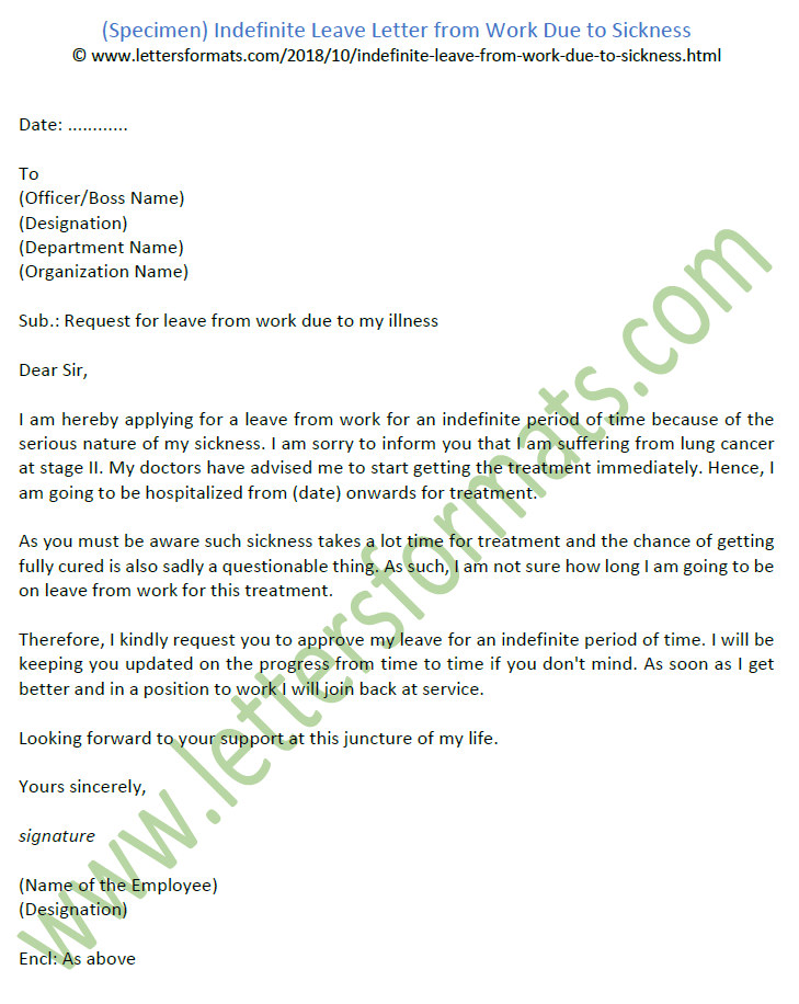 Sample Letter For Leave Of Absence From Work Due To Illness from 2.bp.blogspot.com