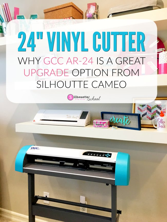 "GCC Vinyl cutter, GCC Cutter, GCC Cutters, gcc expert 24 vinyl cutter plotter review, GCC Cutter Software, GCC 24"", GCC AR-24 review"
