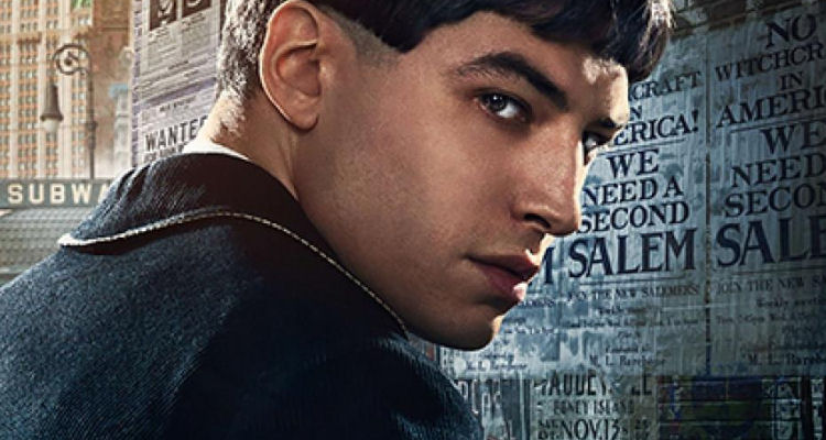 Credence Barebone (played by Ezra Miller)