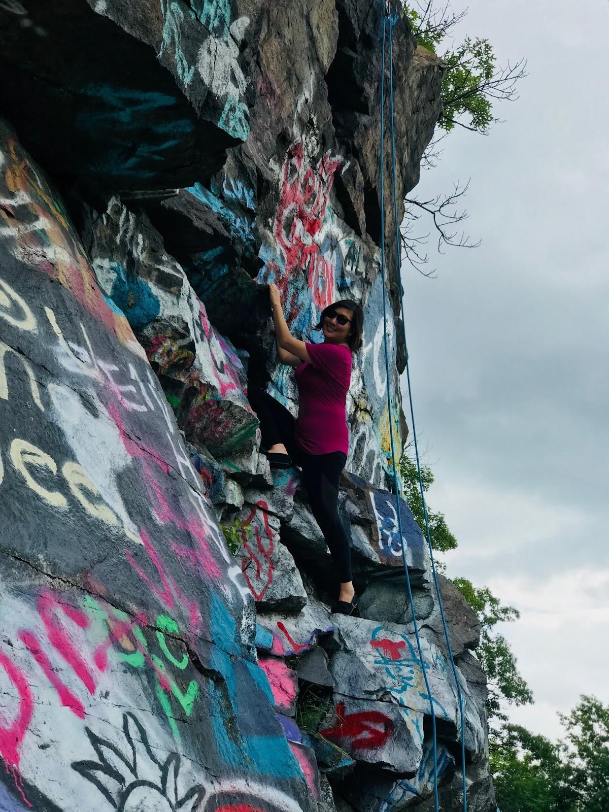 It S Borderline Genius Climbing Quincy Quarries Boston