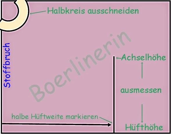 Boerlinerin: Tutorial - Poncho oder Kaftan
