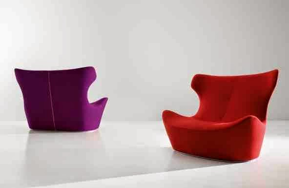 exciting colorful modern furniture | Ultra modern Italian Furniture design for living room By B & B