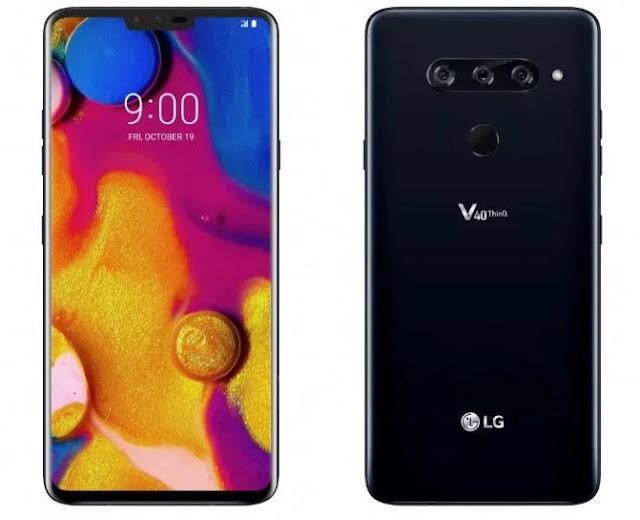 Spesifikasi dan harga Lg v40 thinq