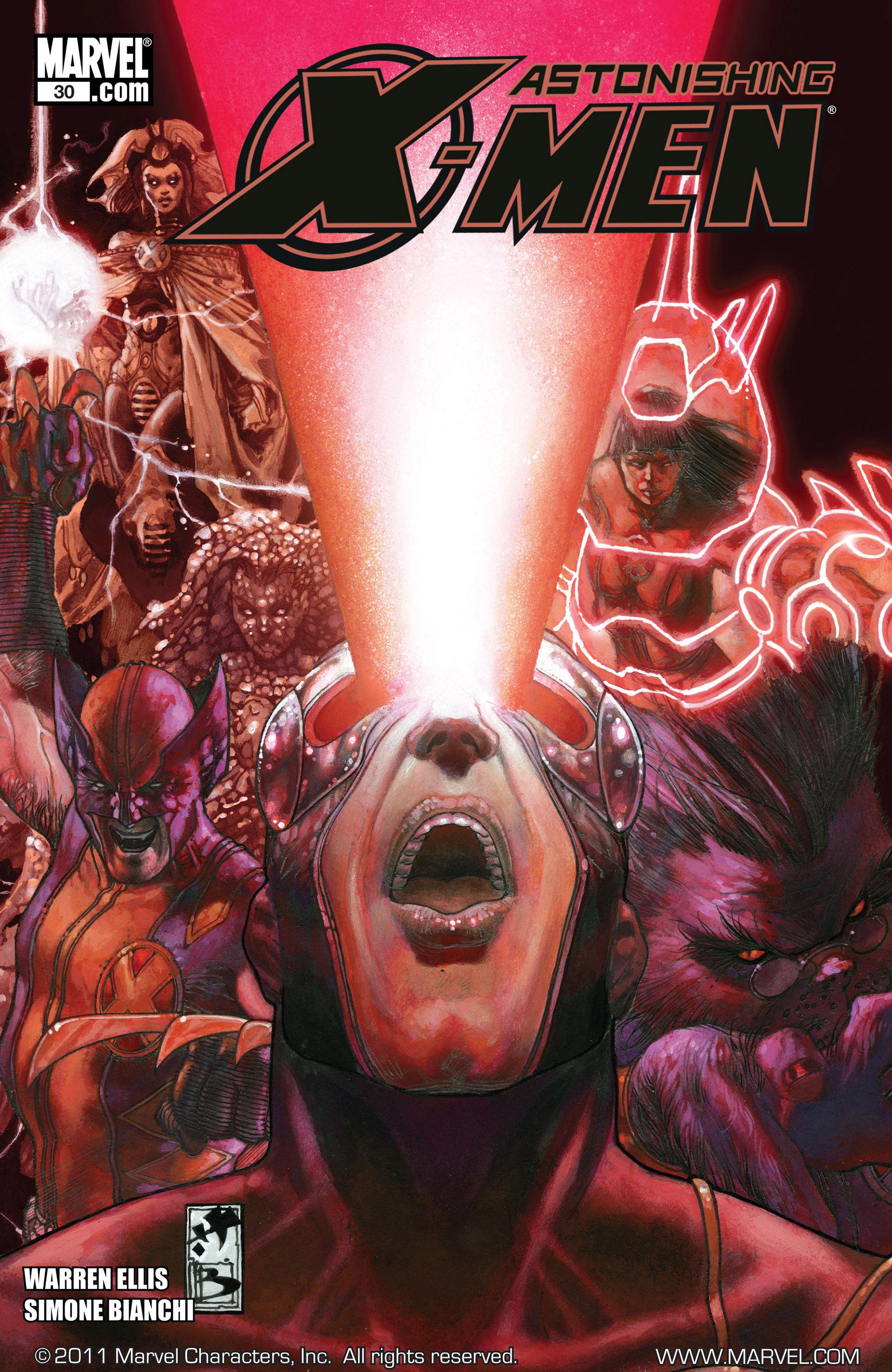 Read online Astonishing X-Men (2004) comic -  Issue #30 - 1