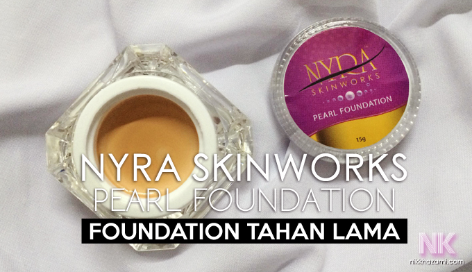 nyra skinworks: pearl foundation