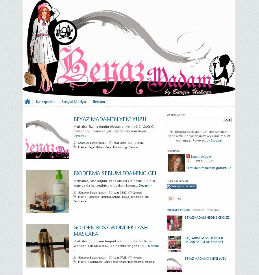Tema Editleme, Tema Yükleme, blogger temaları, Tema Türkçeleştirme, beyaz madam, Tema, Tasarım, Sitemap kaydı, metatag girişleri