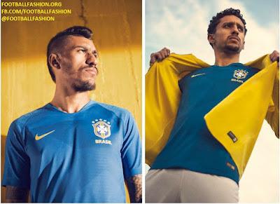 Brazil 2018 FIFA World Cup Nike Soccer Jersey