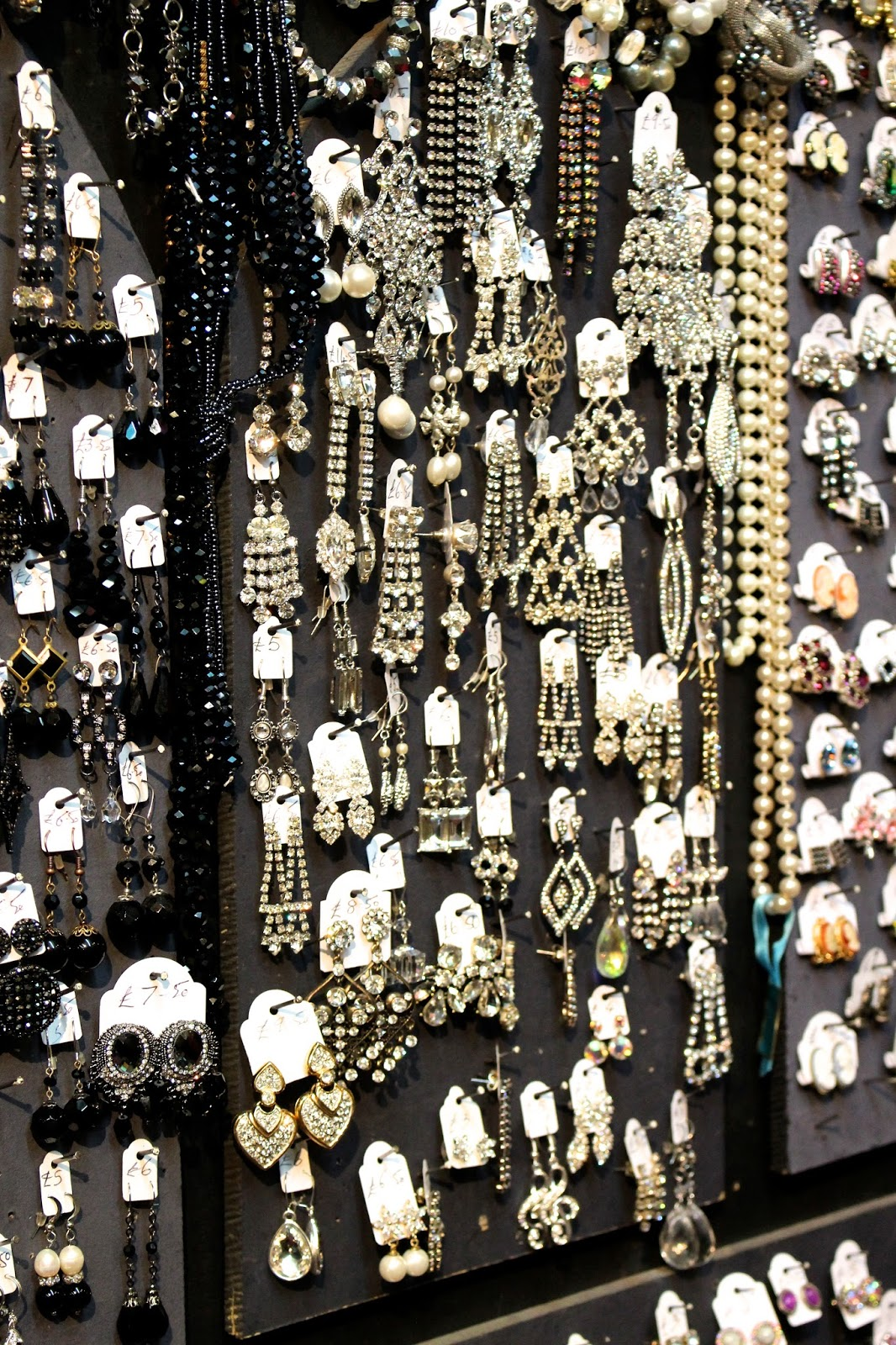 Costume Jewellery Colourful Bath