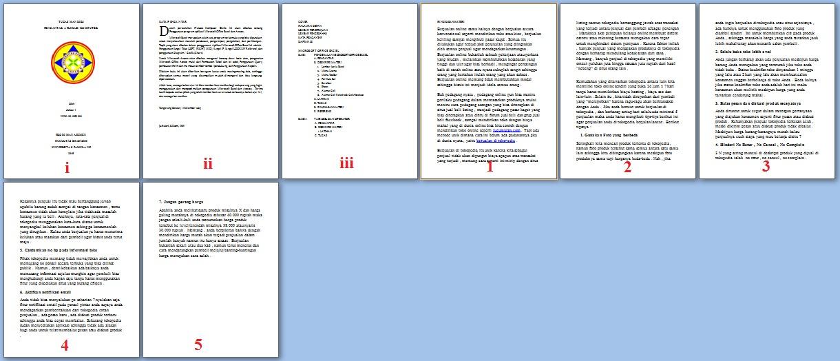 Cara Membuat No Halaman Berbeda Pada Microsoft Office Word ...