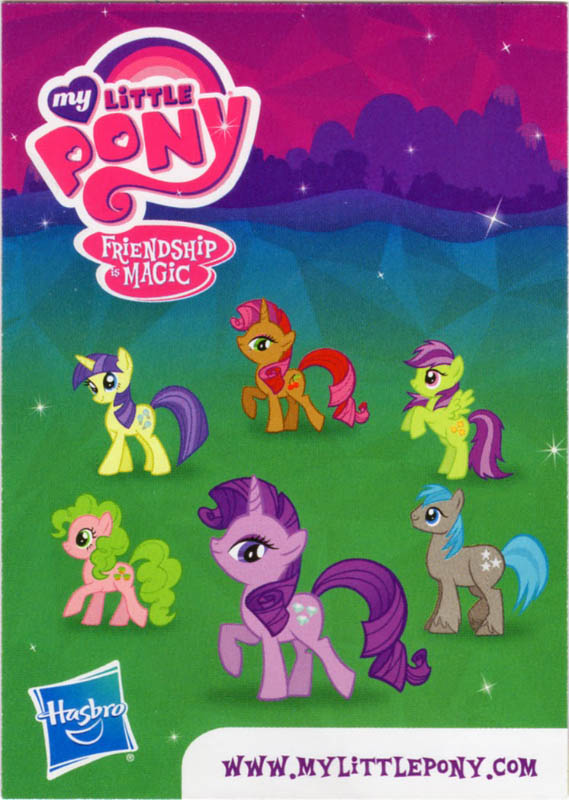 mlp amethyst star blind bag cards