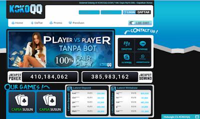 kokoqqPS Situs Poker Online Terpercaya Cuma di Kokoqq.com