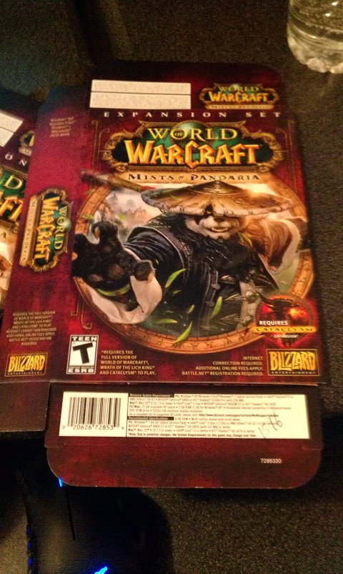 Master of World of Warcraft : July 2012