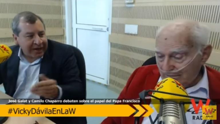 Debate entre el doctor José Galat y el periodista Camilo Chaparro