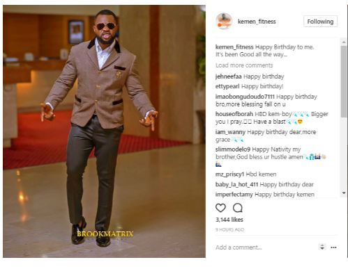Former Big Brother Naija Housemate Kemen is a Year Older (Photos)