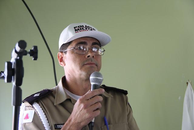 Comandante Pelotão de Polícia Militar em Jacinto