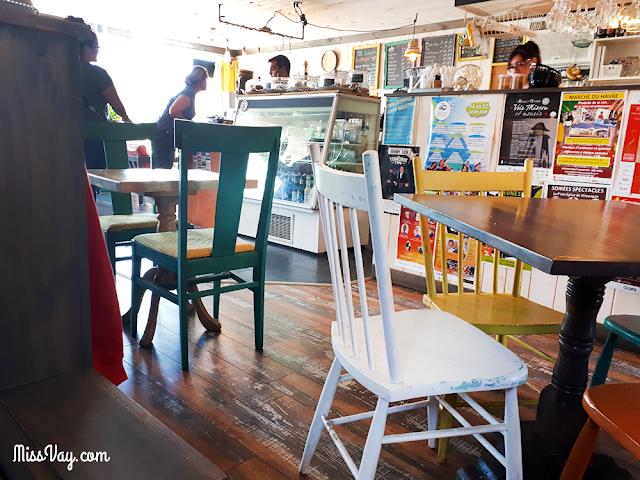 Le café-boutique Aloha à Lamèque