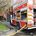 Trasladado al hospital un varón por inhalación de humo en un incendio en garajes de Rontegi