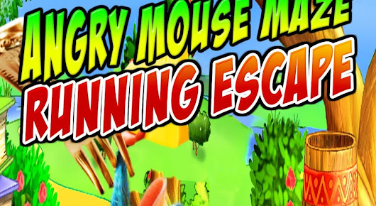 Angry Mouse Maze Running Escape