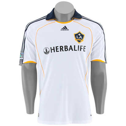 008 - Camisa Los Angeles Galaxy - Uniforme I - 07 08  48593e0c75d45