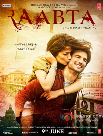 Raabta 2017 Hindi 480p DVDRip 450MB