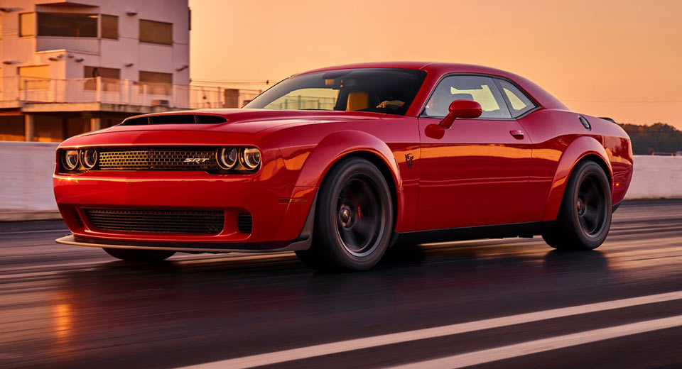 Demon Challenger For Sale >> 2018 Dodge Challenger Demon Hits eBay With Stupid $250k Price