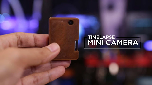 DIY Mini Timelapse Camera arduino