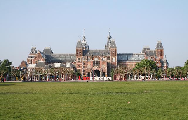 Palácio Real e Rijksmuseum em Amsterdã