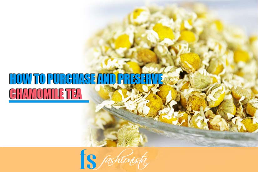 how to purchase chamomile tea