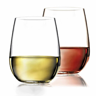 Unbreakable Wine Glasses Stemless - Dishwasher Safe - 100% Tritan Premium Plastic 16oz, Set of 4 by fullerLIFE