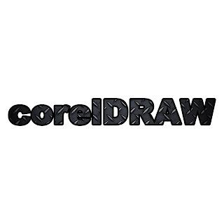 Cara Membuat Tulisan Menjadi Metal Corel Draw