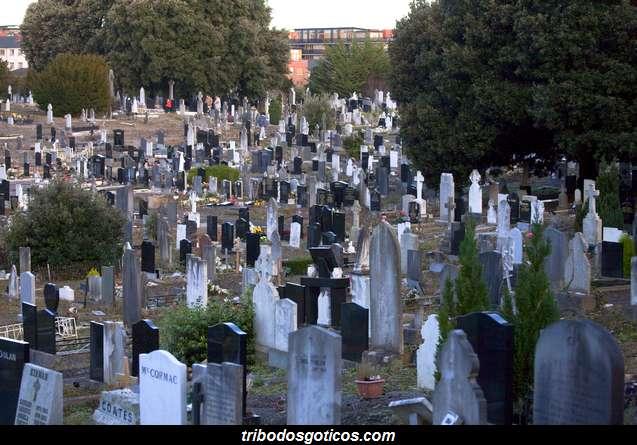 cemiterio goticos solidao lapides