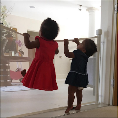 """My Angels Looking For Daddy"": Mikel Obi Says His Twin Girls Miss Him"