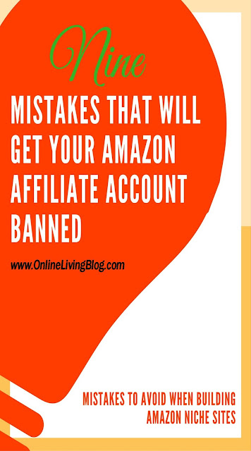 9 Reasons Why You Might Get Banned from Amazon Affiliate Program
