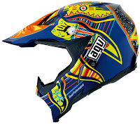 AGV Rossi AX8 Five Continent Cross