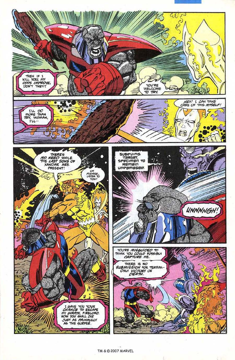 Read online Silver Surfer (1987) comic -  Issue #74 - 13