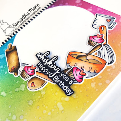 Whisking You a Happy Birthday Card by Samantha Mann for Newton's Nook Designs, Cupcake Inspirations Blog, Distress Inks, Ink Bending, Birthday, Birthday Card, Cards, Card Making, Handmade Cards, Cooking #newtonsnook #cupcakeinspirationschallenge #cucpake #cooking #cards #distressinks #cards