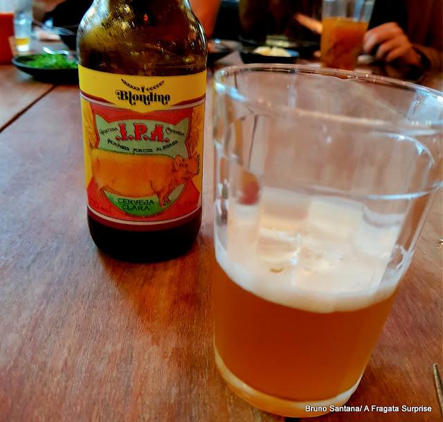 Cerveja artesanal do restaurante A Casa do Porco