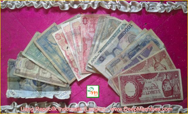 Kumpulan Gambar Uang Kuno Republik Indonesia dari Jaman Belanda, Soekarno dan Soeharto