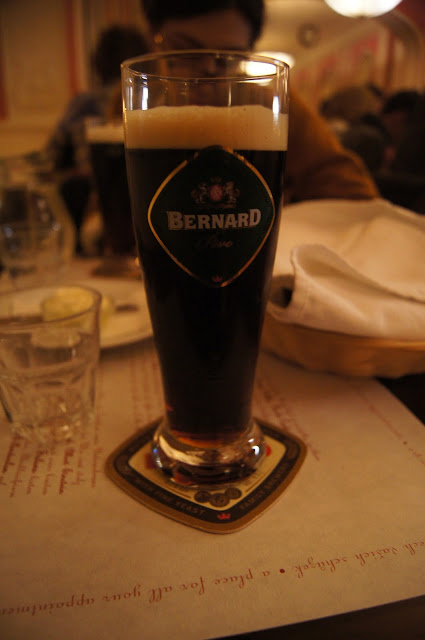 Prague black beer