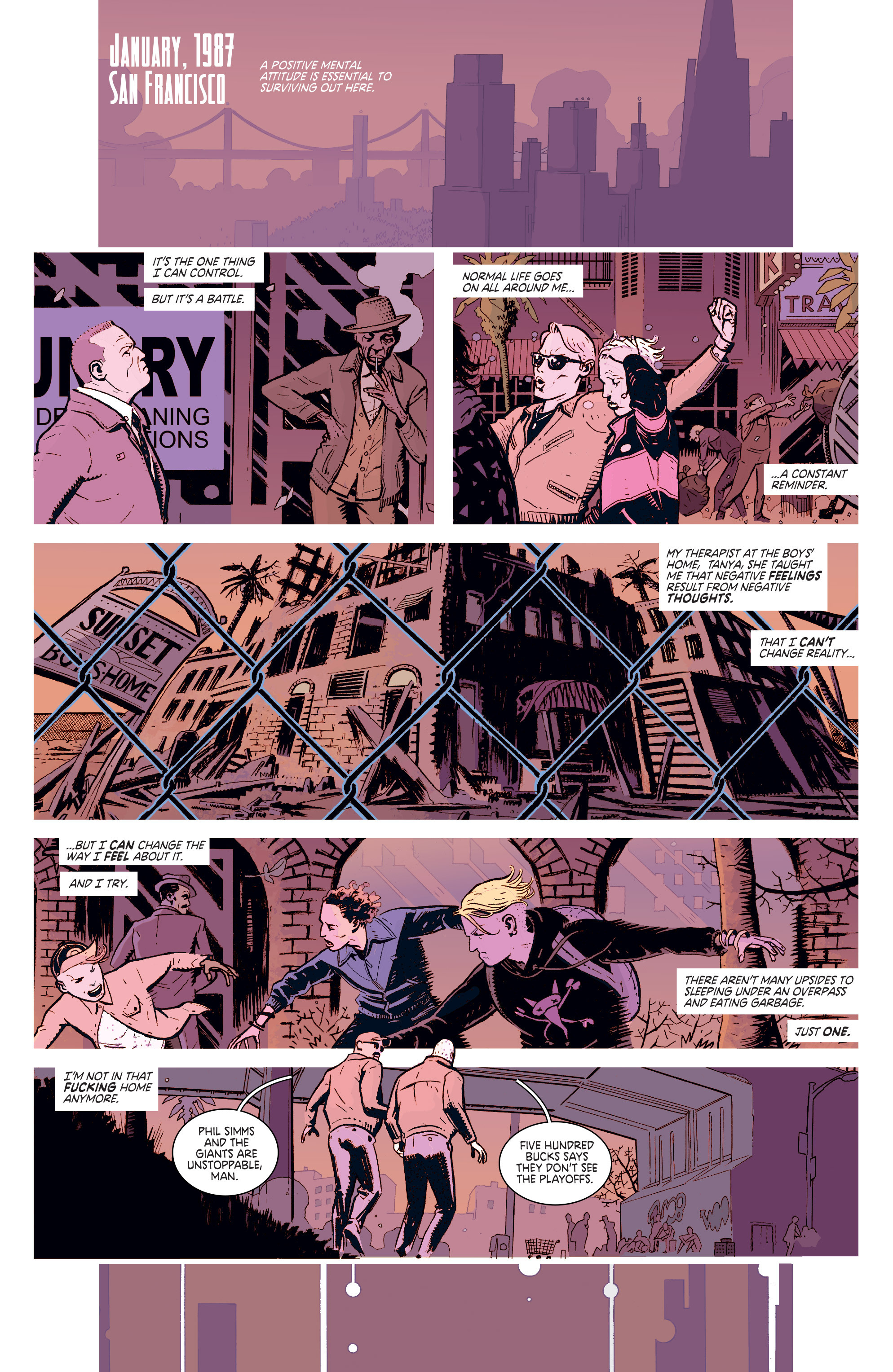 Read online Deadly Class comic -  Issue #1 - 3