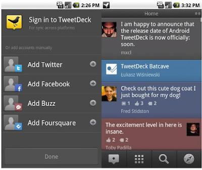 TweetDeck App Snapshot