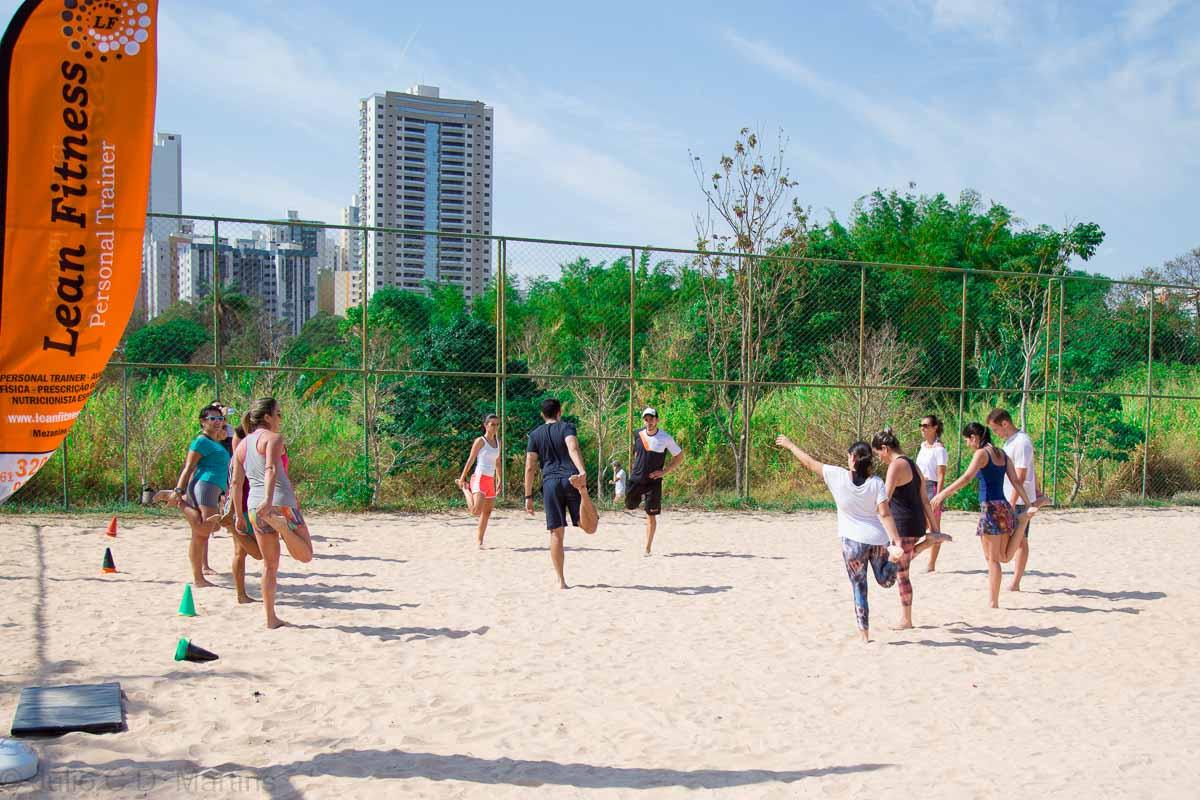 Aulão funcional beneficente no Parque de Águas Claras