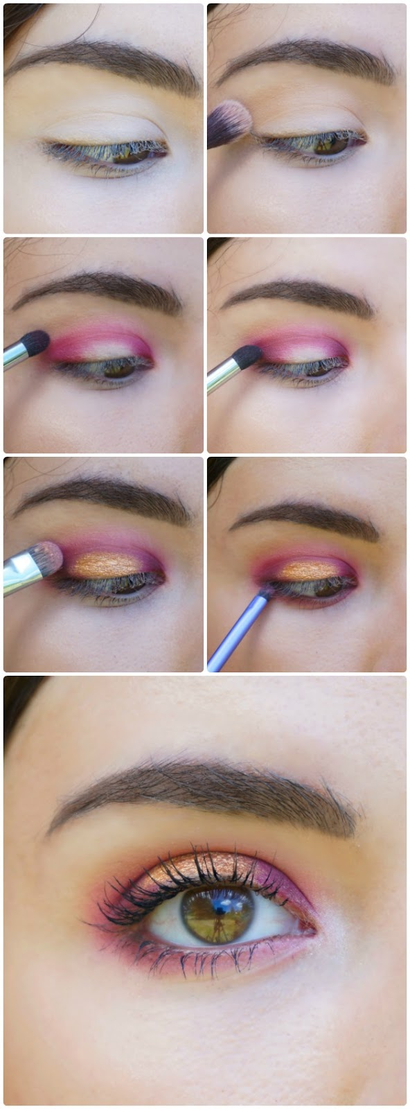 Samantha Ganey Red And Copper Halo Makeup