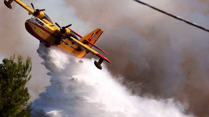 Περισσότερες από 200 ώρες πτήσης για τα πυροσβεστικά αεροσκάφη το τελευταίο τριήμερο