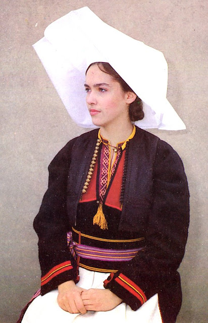 Folkcostume Amp Embroidery Woman S Costume Of South Dubrovnik