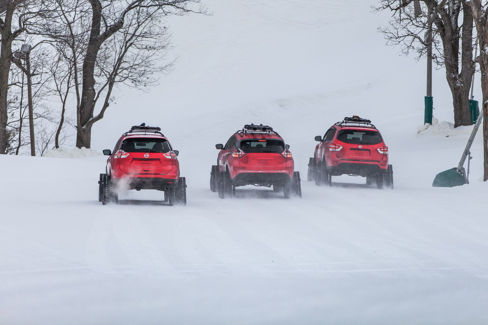 Nissan Pathfinder Murano And Rogue Get Extreme Snow