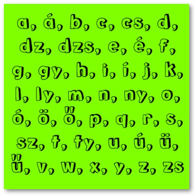 Trait Language The Hungarian alphabet has 44 letters and is more - military alphabet chart