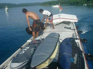 PANAITAN SURFING trip